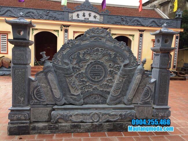 mẫu cuốn thư bằng đá tại Hà Nội