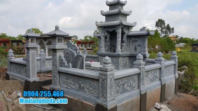 mẫu khu lăng mộ đá tại Bắc Giang đẹp nhất