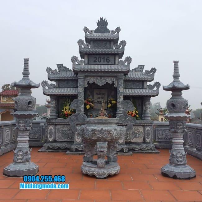 mẫu khu lăng mộ đá tại Bắc Giang