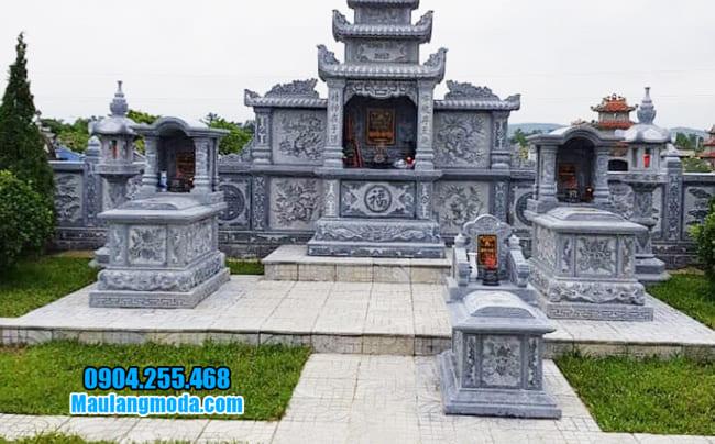 mẫu lăng mộ đá đẹp nhất tại Bắc Giang