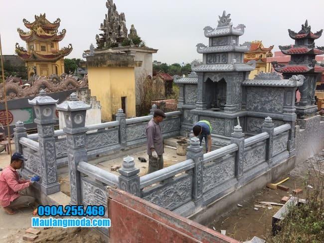 mẫu lăng mộ đẹp tại Bắc Giang