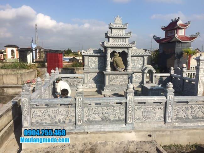 mẫu lăng mộ tại Bắc Giang