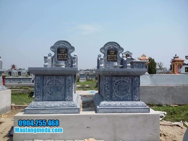 mộ đá đôi tại Bắc Ninh
