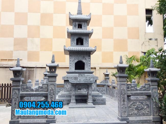 mộ tháp bằng đá tại Bình Phước đẹp nhất
