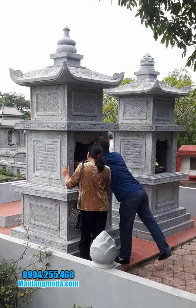 mộ tháp phật giáo tại Bình Phước đẹp