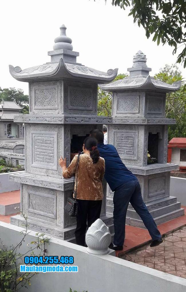 Tháp đẹp để hũ tro cốt tại Quy Nhơn