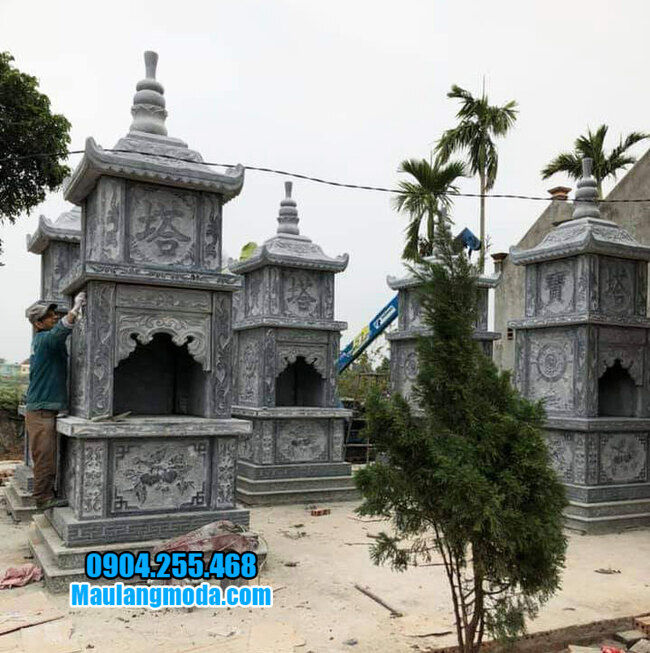 Tháp để tro cốt đẹp tại Quy Nhơn