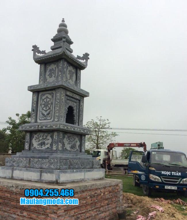 Tháp mộ để hũ tro cốt tại Quy Nhơn