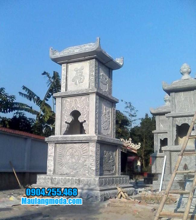Xây tháp mộ đá tại Quy Nhơn đẹp