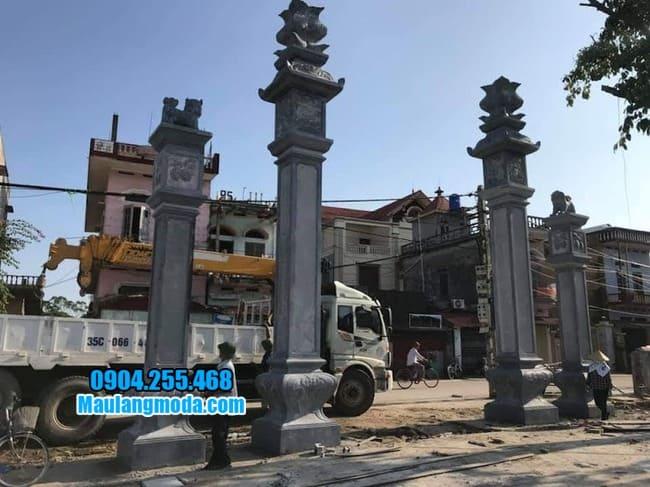 cổng đá đẹp nhất tại Phú Thọ