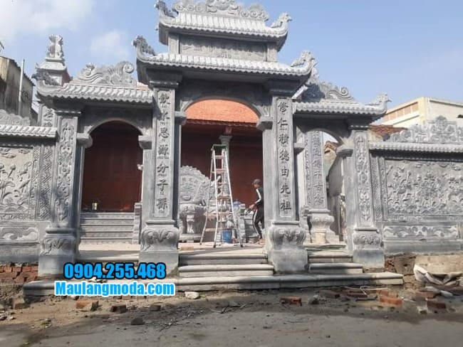 cổng nhà thờ đẹp tại Lạng Sơn