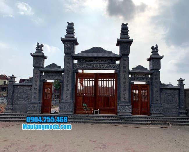 cổng nhà thờ họ đẹp nhất tại Tuyên Quang