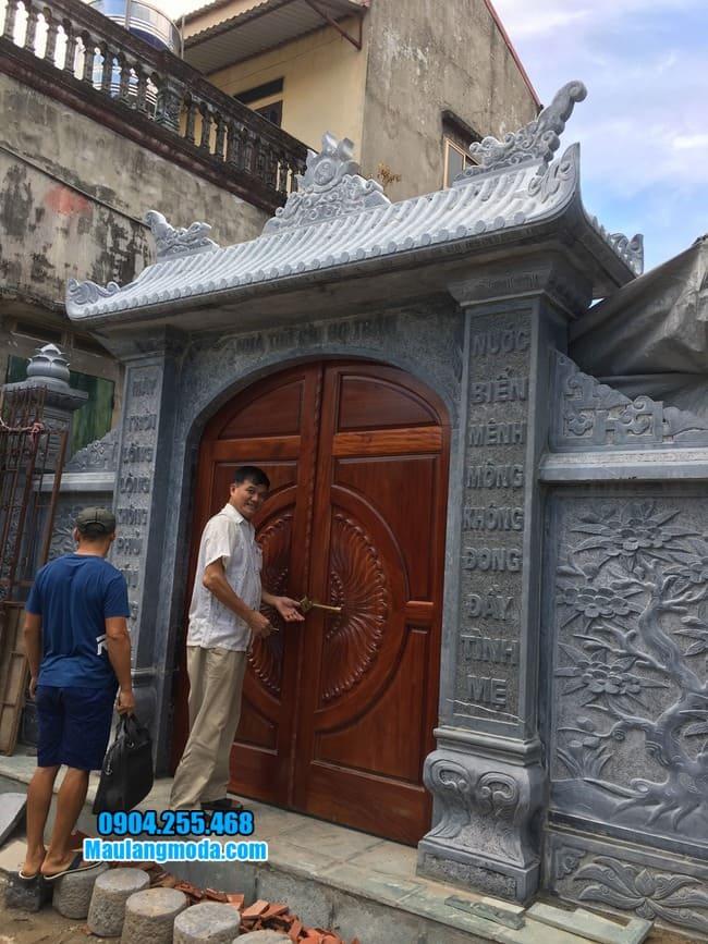 cổng nhà thờ họ đẹp tại Bắc Giang