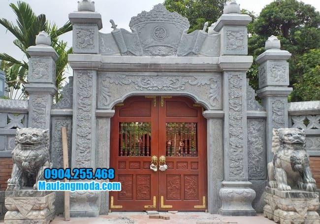 cổng tam quan đẹp tại Hòa Bình