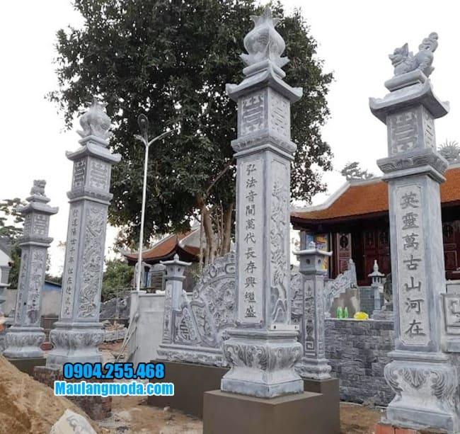 mẫu cổng nhà thờ họ bằng đá tại Lạng Sơn