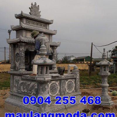 Cấu tạo mộ đôi bằng đá đẹp bán tại Vĩnh Long Mộ đá tại Vĩnh Long