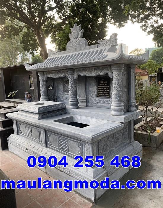 Mẫu mộ đôi đẹp bán tại Vĩnh Long
