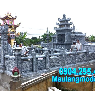 hành lang nhà mồ bằng đá bán tại Bình Thuận đẹp nhất