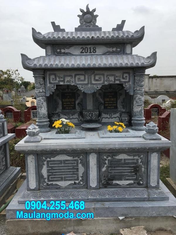 mẫu mộ đá đôi đẹp tại Quy Nhơn