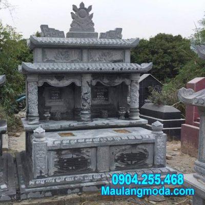 mẫu mộ đôi bằng đá đẹp tại Quy Nhơn