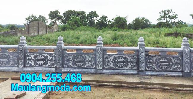 Hàng rào đá nhà mồ tại Nha Trang Khánh Hòa