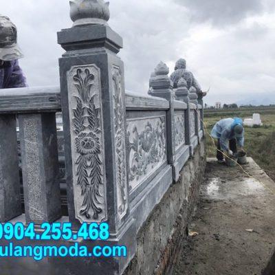 Mẫu hành lang đá khu nhà mồ gia đình tại Đồng Nai đẹp nhất