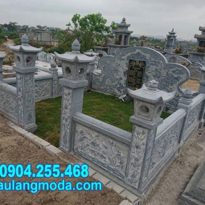 Mẫu nhà mồ đẹp chuẩn phong thủy hoa văn đẹp tại Tây Ninh