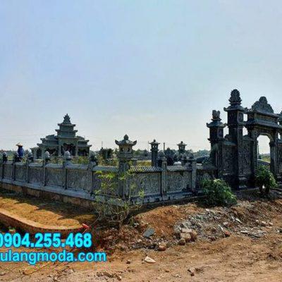 Mẫu nhà mồ bằng đá tự nhiên đẹp nhất tại Bình Định