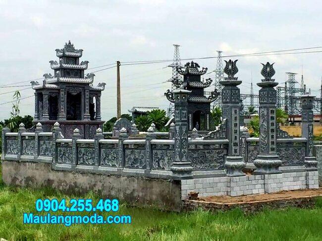 Mẫu nhà mồ bằng đá tự nhiên đẹp nhất tại Ninh Thuận