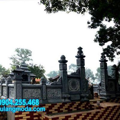 Mẫu nhà mồ bằng đá tự nhiên thiết kế đẹp lắp đặt tại Phú Yên