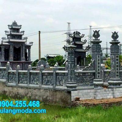 Mẫu nhà mồ làm bằng đá tự nhiên đẹp nhất lắp đặt tại Bình Thuận