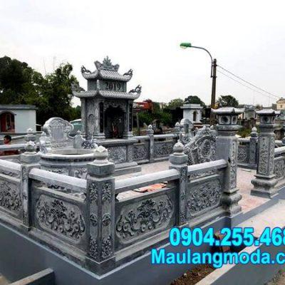 Mẫu thiết kế nhà mồ bằng đá đẹp chi phí rẻ lắp đặt tại Tiền Giang