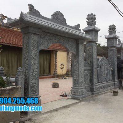 cổng tam quan chùa bằng đá tại Khánh Hòa đẹp nhất