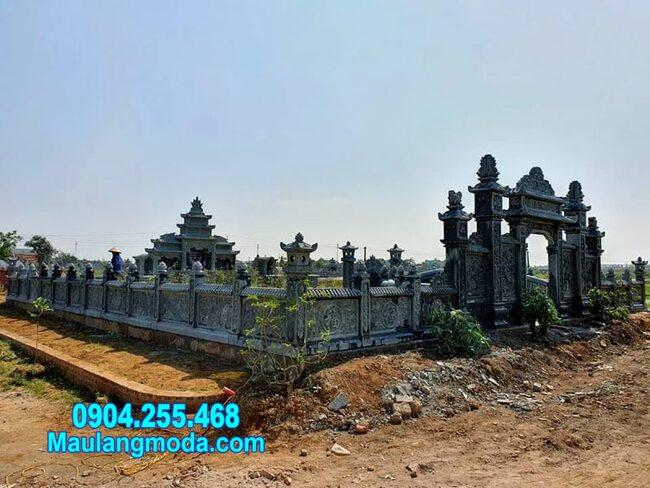 khu nhà mồ đẹp nhất lắp đặt tại Ninh Thuận