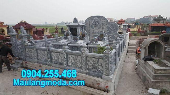 lăng mộ gia đình tại Sóc Trăng