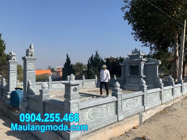 lan can đá nhà mồ đẹp nhất tại Nha trang Khánh Hòa