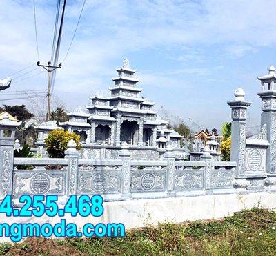 mẫu hàng rào đá khu nhà mồ đẹp nhất tại Quy Nhơn