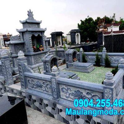 mẫu nhà mồ được làm bằng đá thiết kế đẹp tại Vĩnh Long