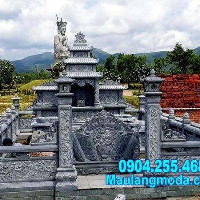 mẫu nhà mồ bằng đá chạm khắc tinh xảo bán tại Bình Phước