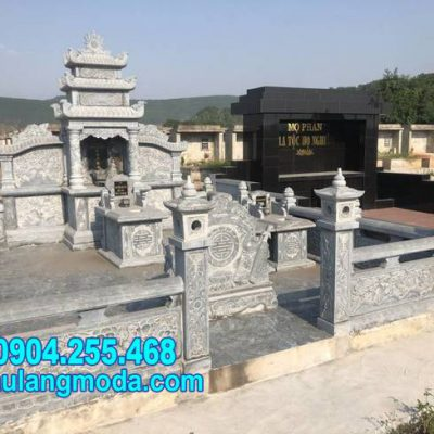 nhà mồ đá xanh tự nhiên tại Kiên Giang