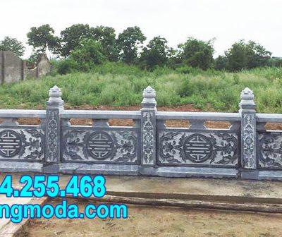 tường rào bằng đá cho khu nhà mồ tại Phú Yên đẹp nhất