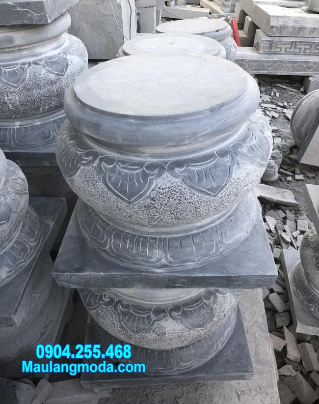 đá tảng kê cột nhà tại Cần Thơ