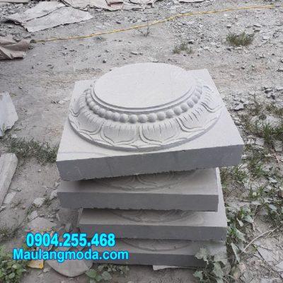 mẫu đá kê chân cột nhà gỗ đẹp nhất tại Bạc Liêu